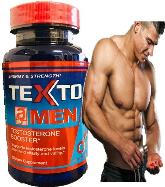 TESTO,LOAD max TESTOSTERONE MUSCLE BOOSTER NO STEROIDS 60