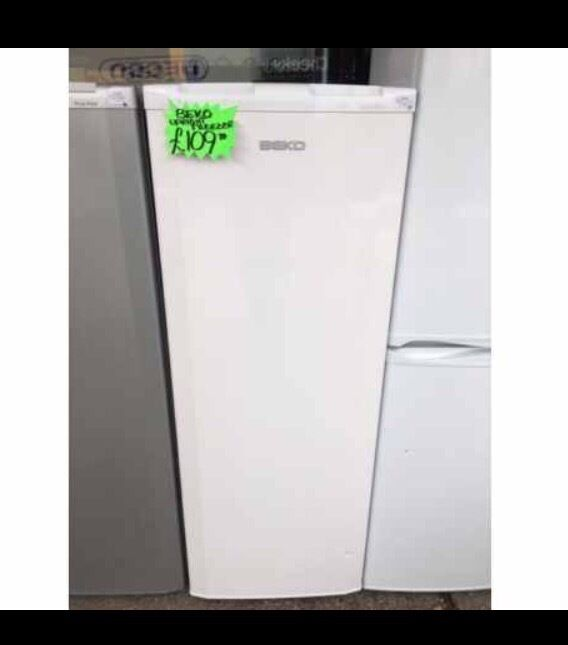 BEKO UPRIGHT FROST FREE FREEZER IN WHITE