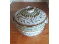 Godshill studio pottery tureen