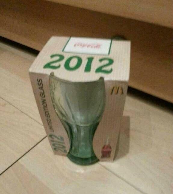 3 Coca Cola Gläser Limited Edition 2012 McDonald's in Sachsen-Anhalt - Aschersleben