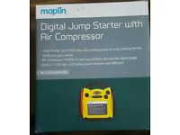Digital Jump Starter with Air Compressor