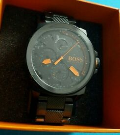 BRAND NEW HUGO BOSS WATCH ORANGE SEALED, BOXED! CHEAP!!