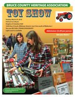 2018 Bruce County Heritage Association Toy Show