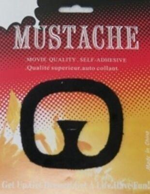 Falsche Spitzbart Bart und Schnurrbart Schwarz Spitzbart Zum - Falschen Bart Und Schnurrbart