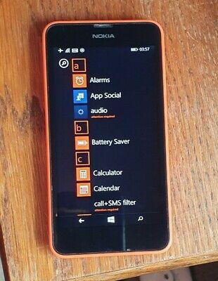 Nokia Lumia 630 - Windows Mobile Phone - Excellent Condition . EE Network., używany na sprzedaż  Wysyłka do Poland