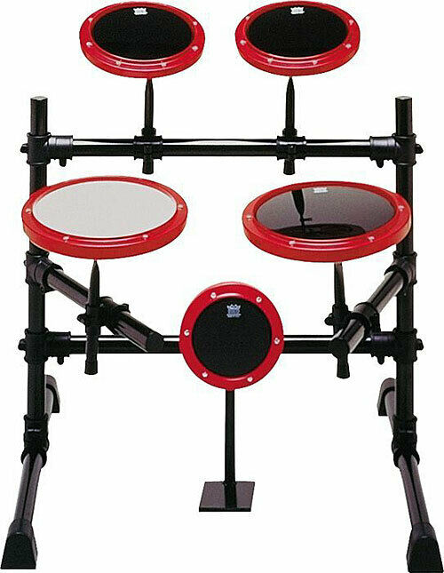 Remo 5-Piece Versatile Tunable Practice Drum Pad Kit Set - RP0202-58