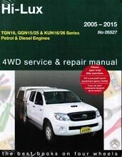 Toyota Hi-Lux Petrol & Diesel 2WD & 4WD 2005 - 2015 Gregorys Book Blacktown Blacktown Area Preview