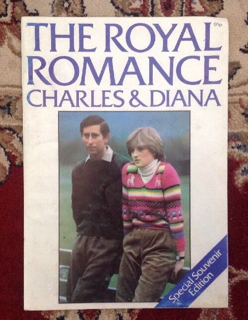 Princess Diana The Royal Romance Charles Diana Rare 1981 Book