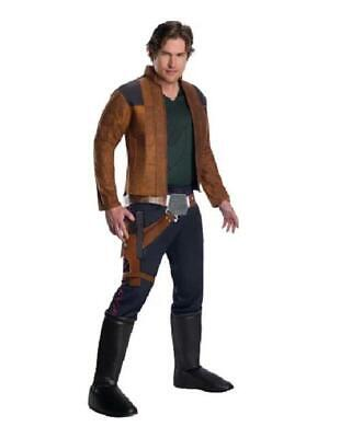 Star Wars HAN SOLO ~ Halloween Costume ~ Adult M (jacket sz 38-40) ~ NEW - Han Solo Adult Costume