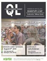 Quantum Leap: Empowerment for Young Adults 18-24yrs!