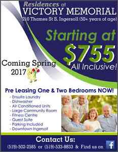 Senior Apartments in Ingersoll - All Inclusive Rent!