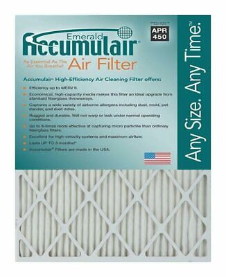 Accumulair Emerald MERV 6 Air Filter/Furnace Filters