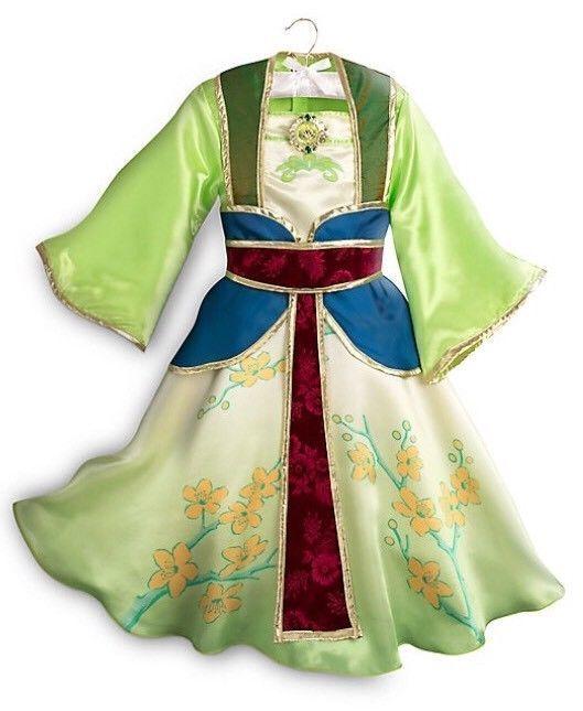 New Disney Store Princess Mulan Costume for Kids - Sz  3T