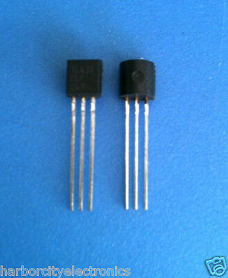 2x Tl431clp Texas Instruments Ic Vref Shunt Prec Adj To-92-3 2units