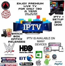 12 MONTHS IPTV SUBSCRIPTION ONLY