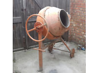 Concrete Mixer in good working order.