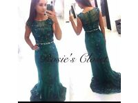 Angel Forever Green Formal Dress From Rosie's Closet