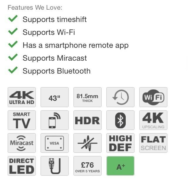 """Tv LG 43"""" ,HDR ,4K , Smart   in Bournemouth, Dorset   Gumtree"""