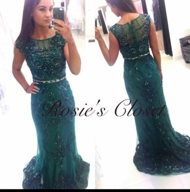 Angel Forever Green Formal Dress From Rosieu0027s Closet