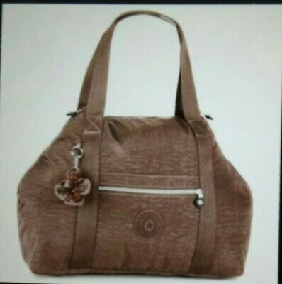 Kipling duffel travel bag Art m brown K01362757