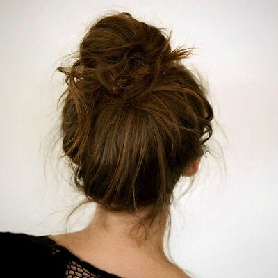 Incredible Your Guide To Creating Donut Buns In Your Hair Ebay Hairstyles For Women Draintrainus