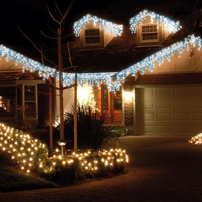 Creative Ways to Hang Icicle Lights. LED Icicle Lights   eBay