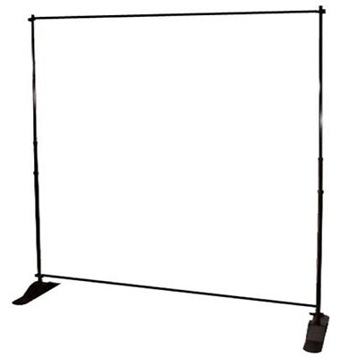 Stand for Step and Repeat Backdrop, Banner, Event, Party, Photo Booth - Photo Booth Backdrop Stand