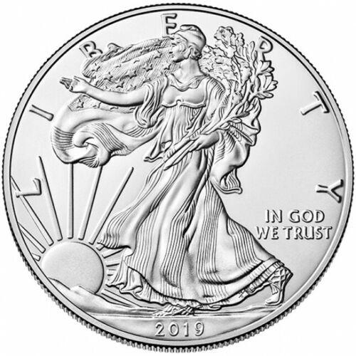 2019 1 oz American Silver Eagle $1 GEM BU