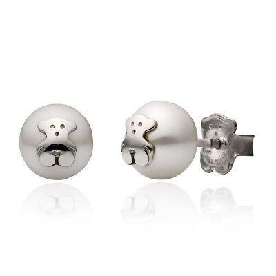 Teddy Bear earrings charm woman jewelry gold-plated 14K studs jewelry