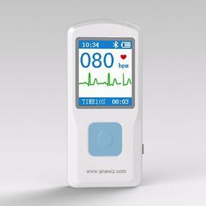 Portable Handheld Single Channel ECG / EKG Machine CE Certified UK