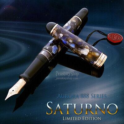 Aurora 888 Saturno Fountain Pen Limited Edition (888-SA) New