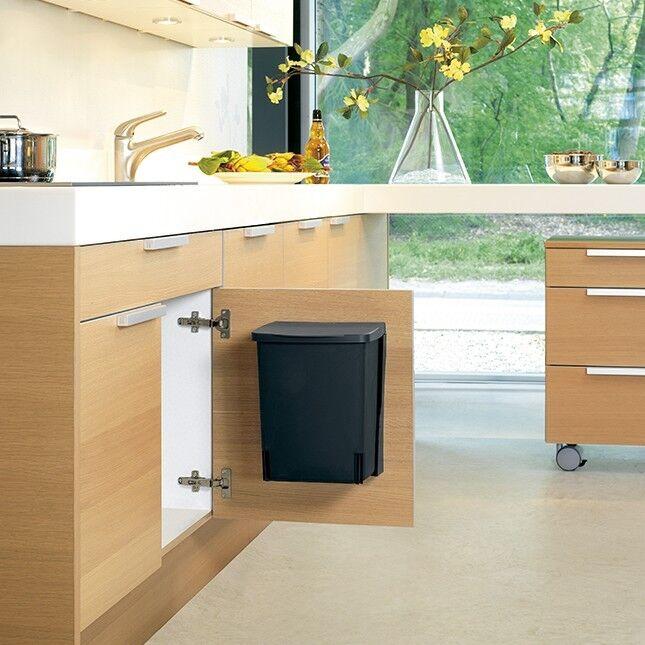 brabantia einbau m lleimer abfalleimer optimal f r schrankeinbau wandmontage eur 20 95. Black Bedroom Furniture Sets. Home Design Ideas