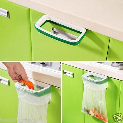 Hanging Kitchen Cupboard Door Cabinet Tailgate Stand Storage Garbage Bags Rack