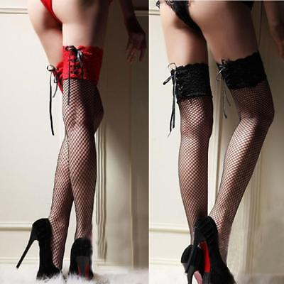 p Thigh High Stockings Thigh Highs Hosiery Nets Long Socks (Lace Top Thigh High)