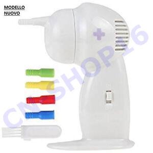 Pulitore orecchie aspiratore elettrico pulizia orecchio - Aspiratore elettrico da finestra ...