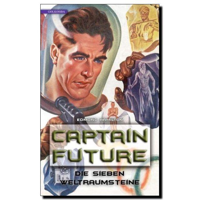 Captain Future 5 Die sieben Weltraumsteine Science Fiction ROMAN TB 30er