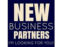 I'm looking for new business partners