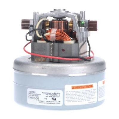 Ametek Lamb Vacuum Blower Motor 240 Volts 116670-50