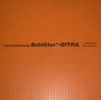 Schluter Ditra Membrane Tile Underlayment Sold by Sq Ft ** Best Price on Ebay