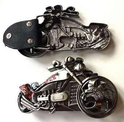 Custom Gürtel-schnalle (Chopper-Custom Bike Massiv Aufbaru Gürtel Buckle-Motorcycles-Bikes-Ornament)