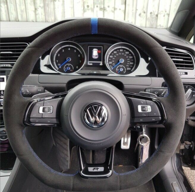 Vw Golf Mk7 R Alcantara Steering Wheel In Washwood Heath