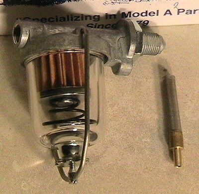Sediment-filter Tank (1928 1929 1930 1931 Model A Ford Sediment Bowl, Micro Filter & Gas Tank Filter)