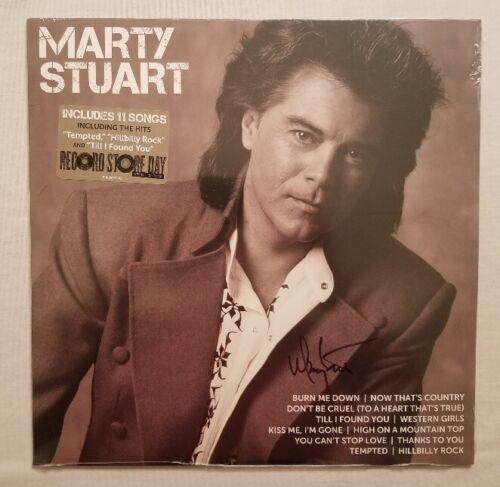 Marty Stuart Autographed ICON Vinyl LP RSD