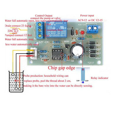 Liquid Level Controller Sensor Module Water Level Detection Sensor Component