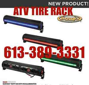 "Bazooka PARTY BAR 24"" BPB24 W/RBG LED BLUETOOTH 450W Audio"
