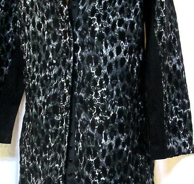 TS coat TAKING SHAPE plus sz XXS / 12 Espresso Jacket winter leopard NWT rp$150! 1