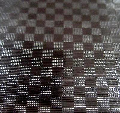 Black Carbon Fiber I Sign Plotter Cutter Vinyl Roll