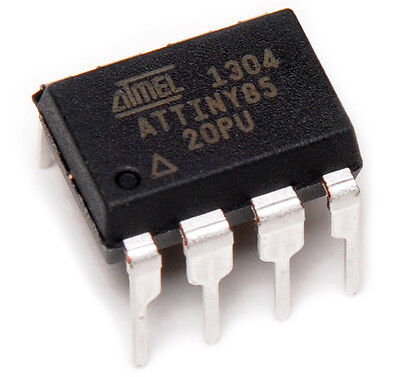 10 PCS ATTINY85-20PU ATTINY85 MCU 8BIT 8KB MICROCONTROLLER - SHIPPED FROM USA