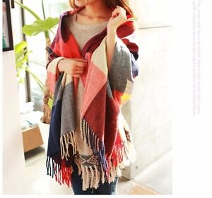 NEW WOMENS 1 SIZE BLANKET SCARF BARGAIN PRICE HIGH QUALITY