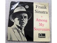 FRANK SINATRA: AMONG MY SOUVENIRS. 1950'S PICTURE SLEEVE E. P.